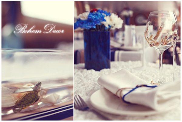 морская свадьба оформление #wedding #nautical #decor