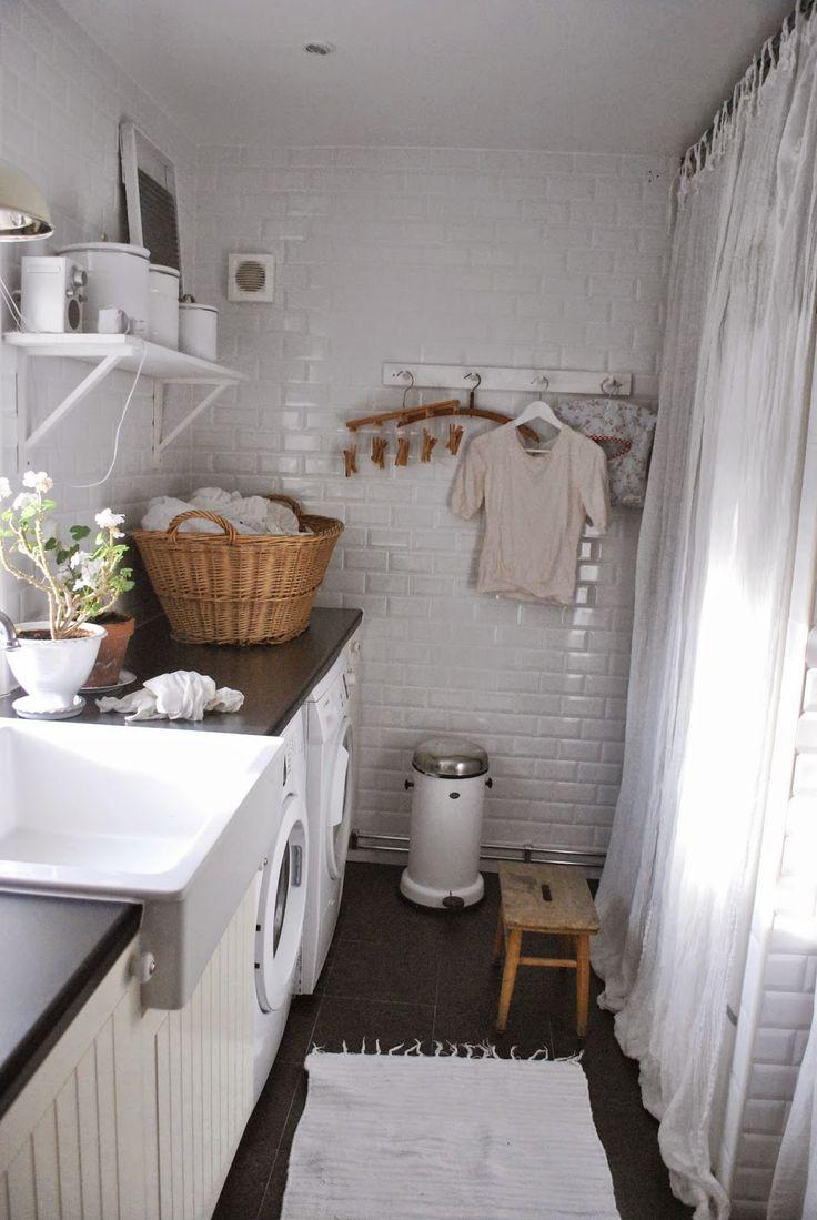 Laundry room Julias Vita Drömmar