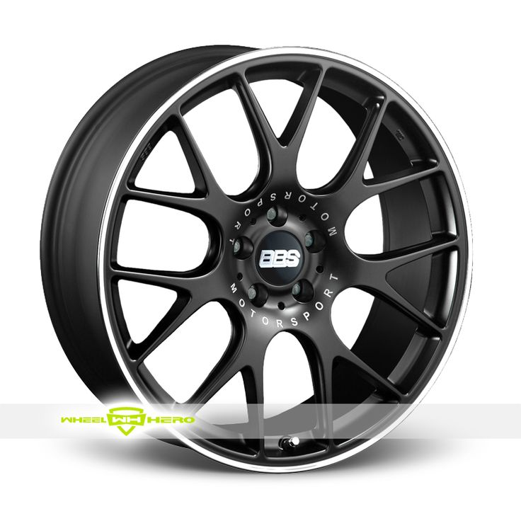 BBS CHR Flow Formed Black Wheels For Sale- For more info: http://www.wheelhero.com/customwheels/BBS/CHR-Flow-Formed-Black