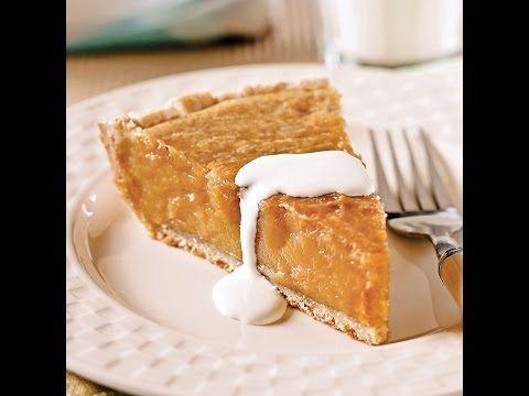 Une bouchée de cette tarte crémeuse au SIROP D'ÉRABLE, c'est goûter une parcelle du paradis! - Ma Fourchette