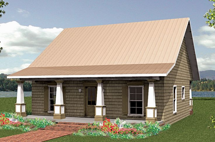 Plan 2591dh Charming Country Cottage House Small Cottages And Lake Cottage