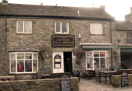 The Cottage Tea Room, Kettlewell, Skipton, North Yorkshire, England, UK