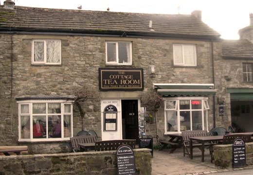 The Cottage Tea Room, Kettlewell, Skipton, North Yorkshire, England, UK