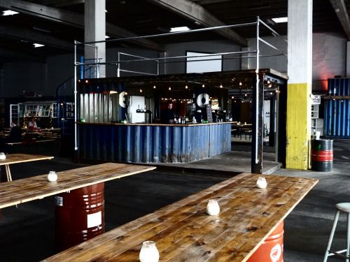 Shipping Containers are very versatile they can be used for lots of different scenarios like Bars and Cafe's