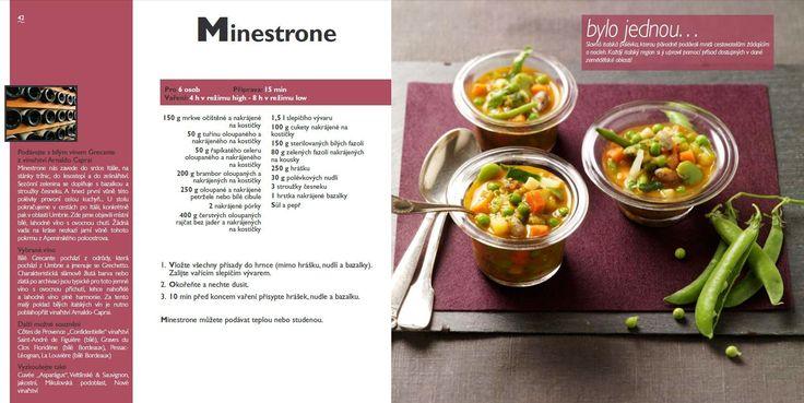 Minestrone recept, Tefal Mijotcook SD5000