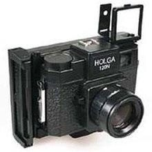The Holgaroid.     Polaroid Instant Film Back for my beloved Holga.