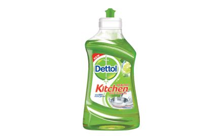 Get Dettol Soap 75g free with Dettol Dishwash Slab Gel Lime Splash 400 ml. Valid at all super markets.