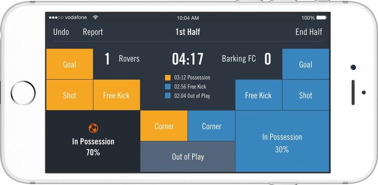 Smarter football starts with video. Record and analyze games to take your team to the next level.