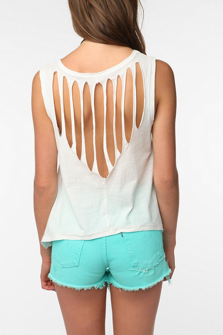 Black light t shirt ideas - If Your Shirt Is Has A Rip Make It A Fashion Statement