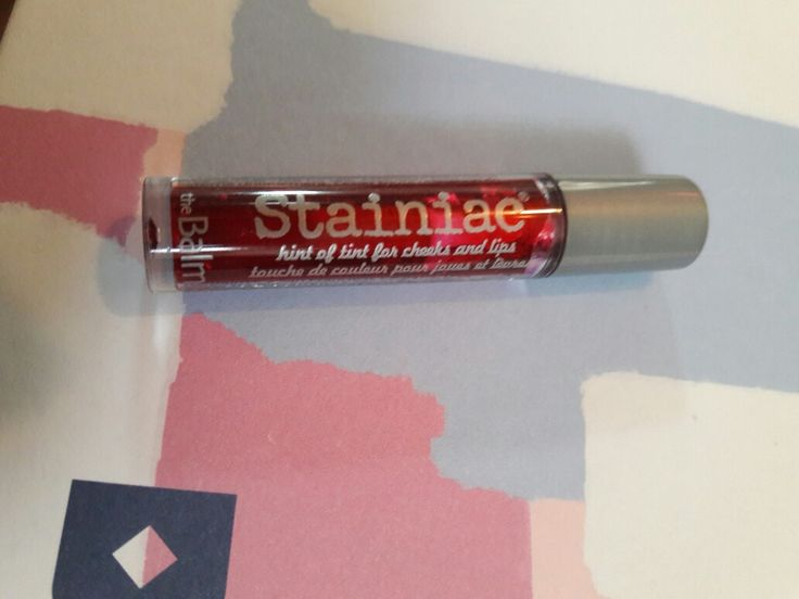 The Balm: cheeks and lips stain