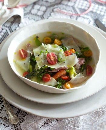 Reuben Riffel's light summer soup