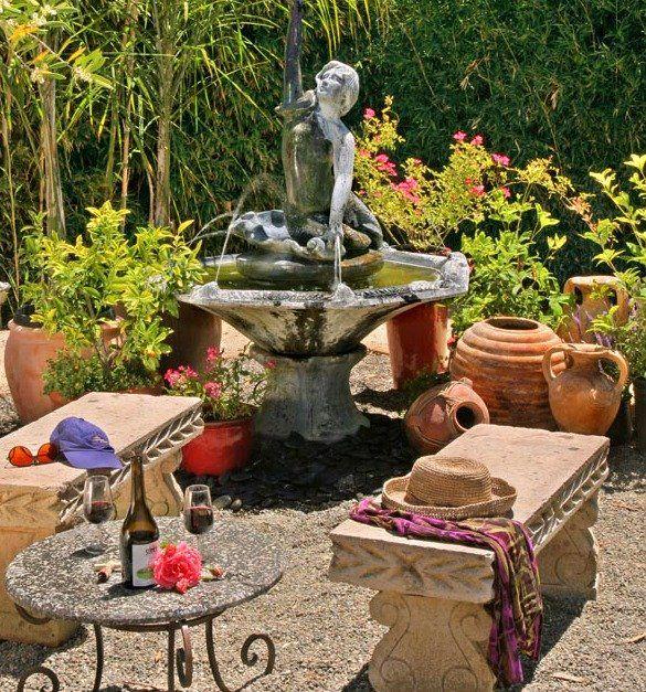 Die besten 25+ Gartenbrunnen stein Ideen auf Pinterest ...