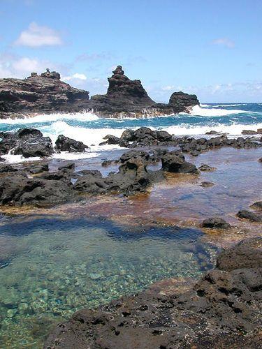 Olivine Pools - Maui