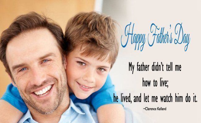 Happy Father's Day Images With Quotes 2018 Free Download  #happyfathersday2018 #...