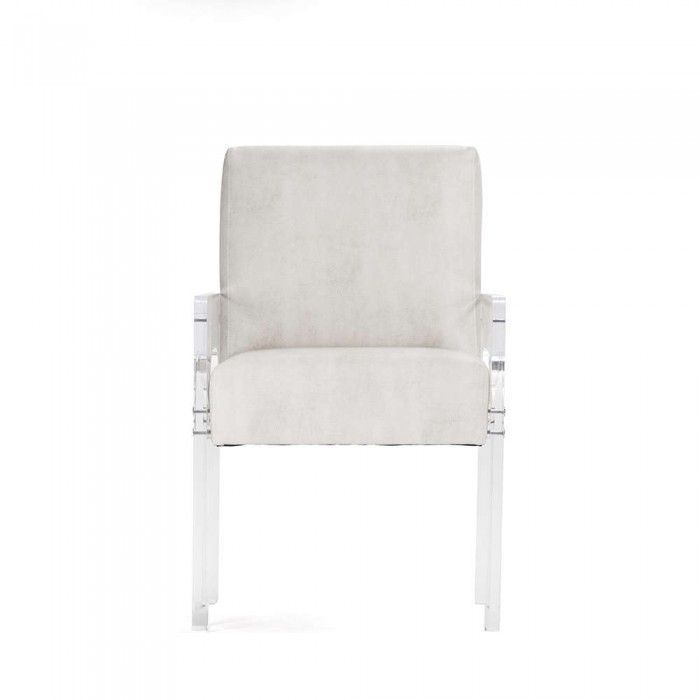 The Ariston Acrylic Arm Chair From Pacific Home Furniture Is A Great  Occasional Chair For Any