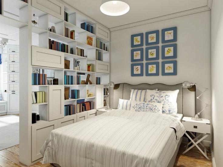 спальня в дизайне квартиры в стиле прованс