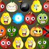 Play Fruit Faces online at http://iluvgames.com/shooting/fruit-faces-2/ No registration or download required. Funny bubble shooter game with fruit faces. Shoot faces up and make groups of 3 or more of the same faces. Wake up sleepy faces or uncover covered faces by shooting at it and try to collect bonusses.   Fruit Faces iluvGames.com. fruits face shooter bubble faces