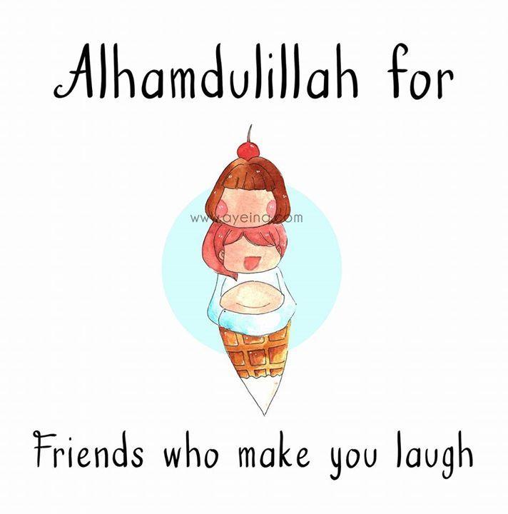 126: Alhamdulillah for friends who make you laugh #AlhamdulillahForSeries