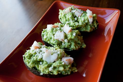 ... the shrimp, but I am totally excited by the idea of stuffed avocados