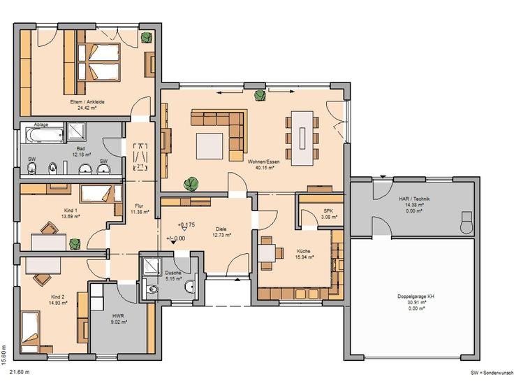 Modernes haus grundriss bq38 startupjobsfa for Modernes einfamilienhaus grundriss