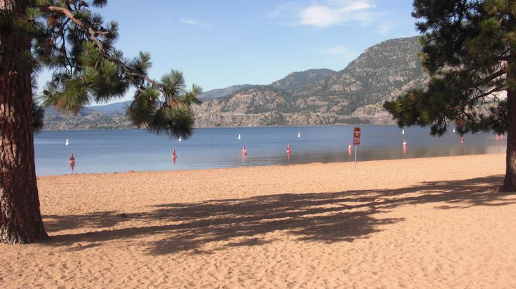 Beach is ready at Skaha!