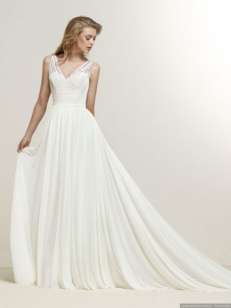 Mejores 50 imágenes de Vestidos de novia sencillos en Pinterest