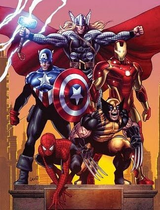 marvel superheroes. Specifically, The Avengers