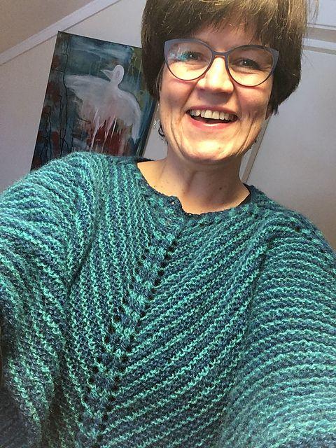 Ravelry: hellemyrvik's Nancy-poncho