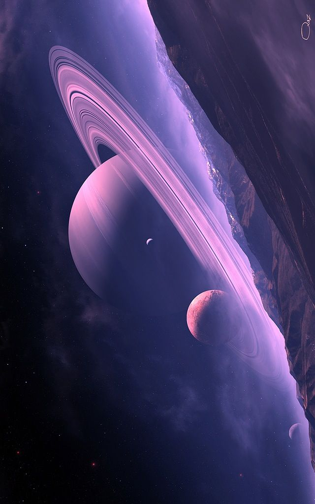 Saturn - ruling planet of the Capricorn
