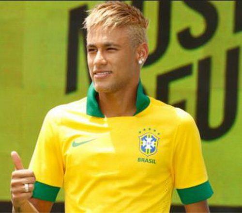 Neymar Simple Hairstyles 2014