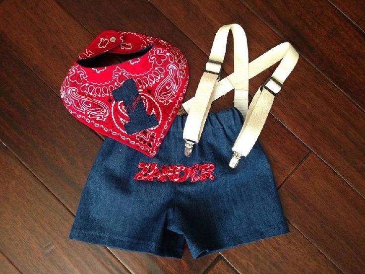 Western, Cowboy or farm cake smash or first birthday photo shoot outfit.  Or choose your own colors or theme!