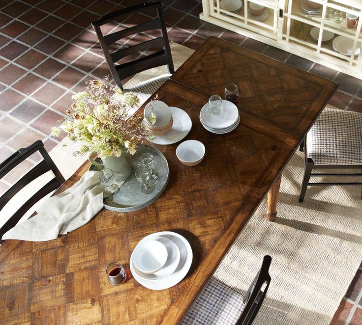 The Table Embodies The Look Of A Farmhouse Antique Discovered A Lifetime  Ago On The French
