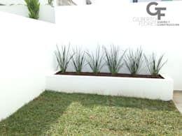 Jardins modernos por GF ARQUITECTOS