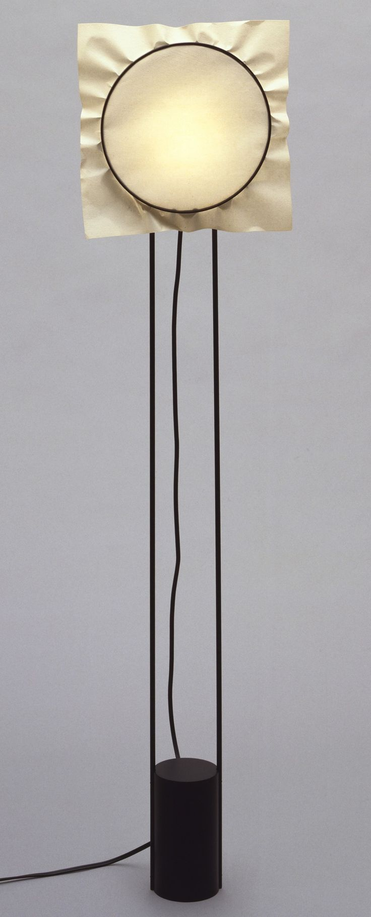 V lorenzo porcelli carmen basile corona floor lamp 1981