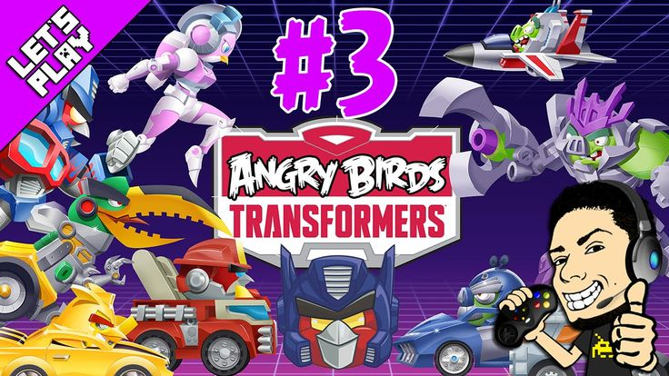 Let's Play Angry Birds Transformers - Episode 3 GamePlay + Walkthrough