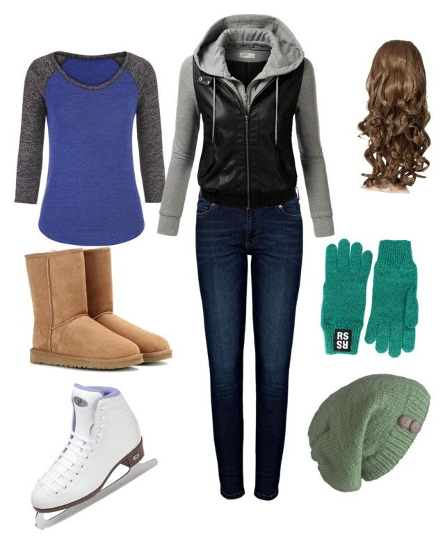 """winter ice skating outfit"" by cupcakelover6629 ❤ liked on Polyvore"