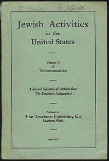 The International Jew - henry ford antisemitic
