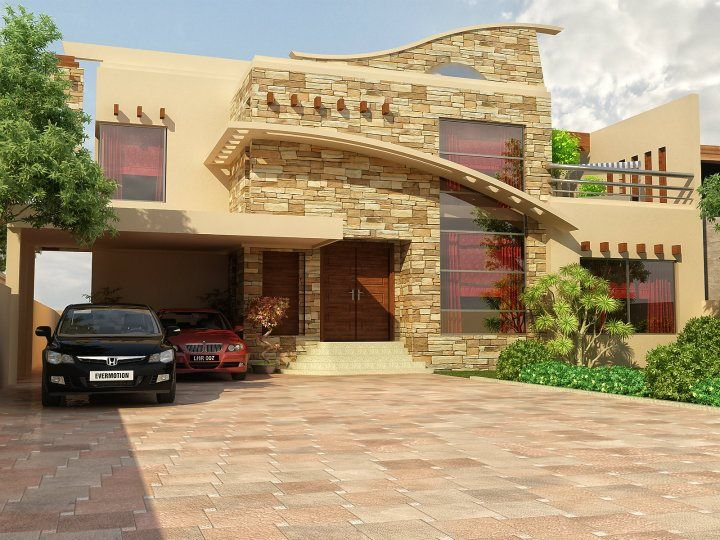 Home Design In Pakistan 60 x 100 wapda town 1 kanal house design 3d front elevation in lahore Pakistani Home Penelusuran Google