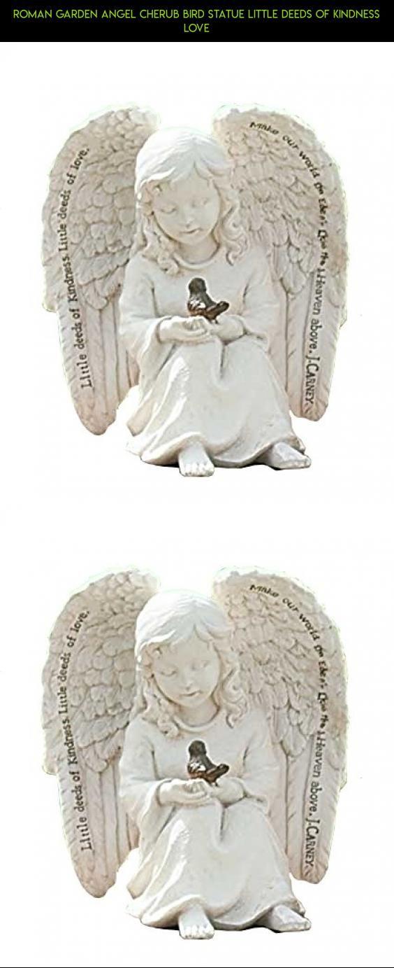 Roman Garden Angel Cherub Bird Statue Little Deeds of Kindness Love #tech #parts #fpv #technology #products #plans #decor #gadgets #outdoor #racing #drone #kit #angel #camera #shopping