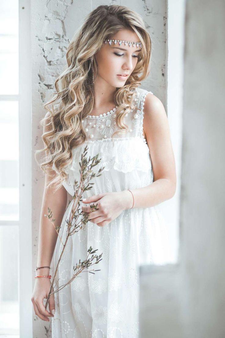 Свадебные причёски : стиль Рустик (рустикальные) фото : 163 идей 2017 года на Невеста.info
