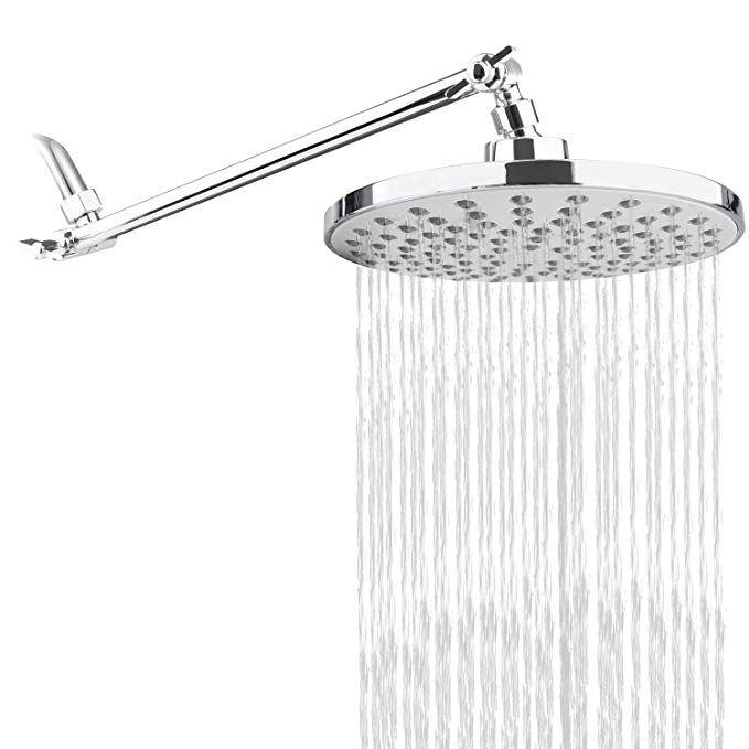 Rongmax Complete Rain Shower Head Kit 7 6 Inch Luxury Rainfall