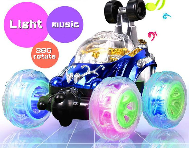 2017 New Front Wheels Rotate 360 Degrees Remote Control Cars With Light And Music Easy Rc Cars For Little Boys 14cm All Mini