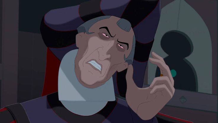 "Judge Claude Frollo (Tony Jay) from ""The Hunchback of Notre Dame"""