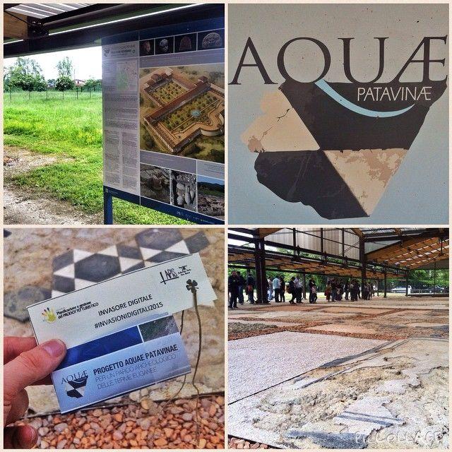 blogdipadova La villa di via neroniana alle #invasionidigitali . Scoprite il progetto #aquaepatavinae dal sito www.aquaepatavinae.it