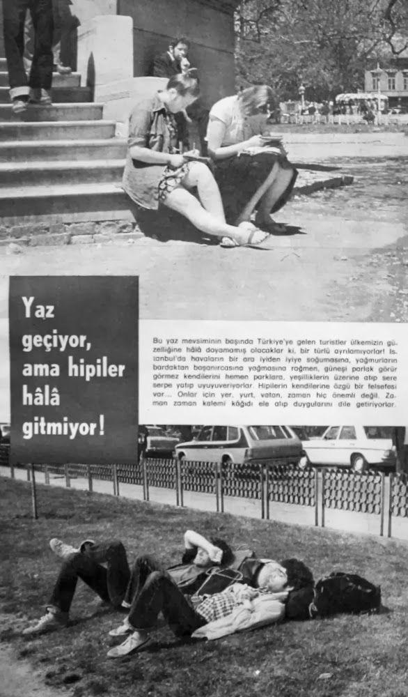 Yaz geçiyor ama hippiler hala gitmiyor 1976.