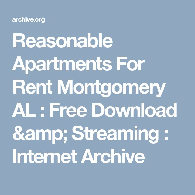 Apartment In Montgomery Al: Reasonable Apartments For Rent Montgomery AL : Free