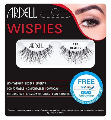 d305bc6456a #ARDELL lashes wispies 113 black 10234947 #20 Advantage card points. FREE  Delivery on