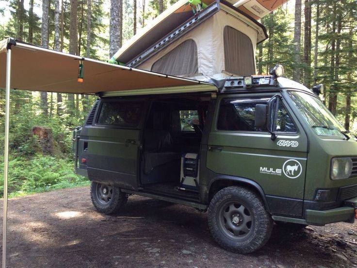Cool For Offroad Exploration, The Syncro Vanagon Is The Perfect Vehicle A Short Wheel Base Makes Getting Into And Out Of Tight Spots A Breeze, And Its Narrow Frontal Profile Lets It Squeeze Between Trees Like A 1970 Bronco Add A Superlow