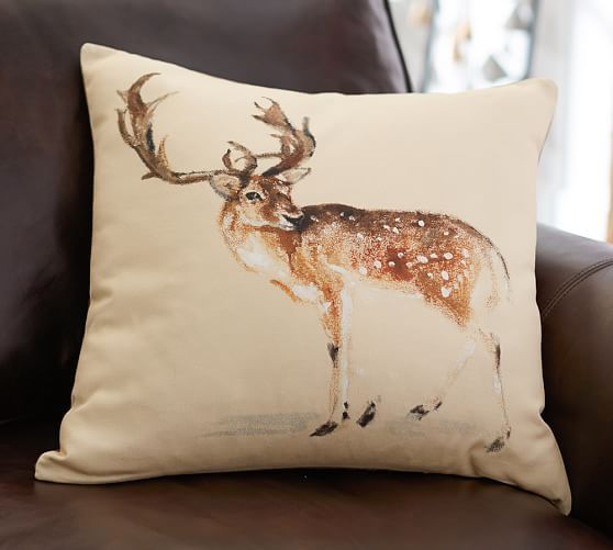 Pottery Barn Decorative Pillow Covers : 35 best images about Pillows on Pinterest Deer, Pottery barn pillows and Pillow covers