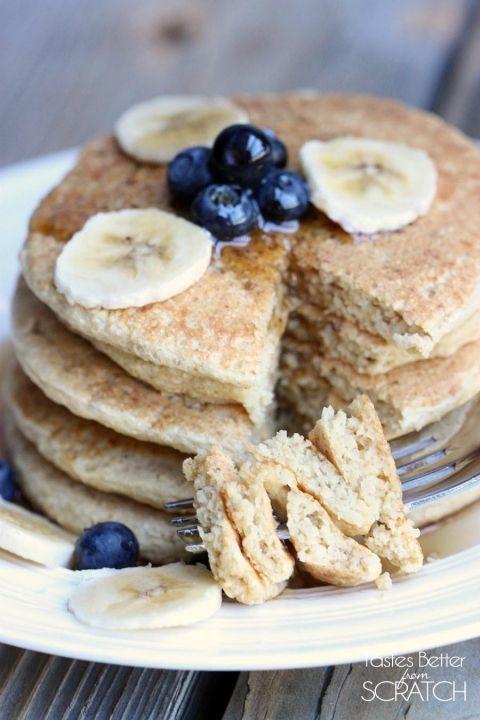 Best 25+ Oatmeal protein pancakes ideas on Pinterest ...